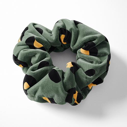 Scrunchie – Khaki Leopard