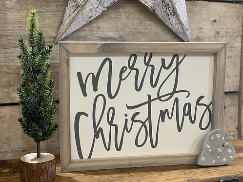 Merry Christmas - Grey