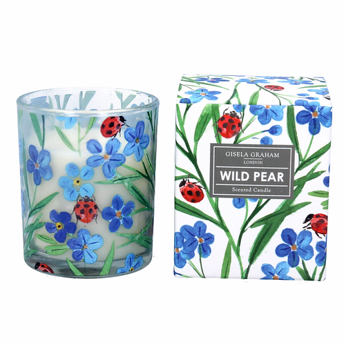 Wild Pear w/Forget Me Not/Ladybird Candle