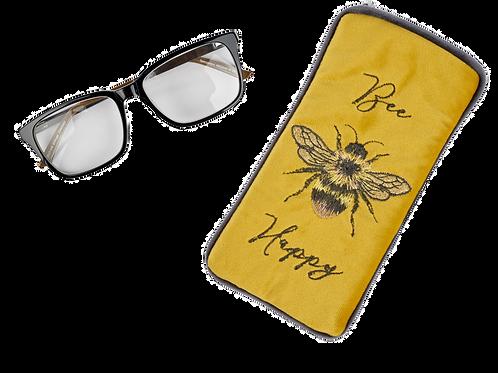 BEE HAPPY GLASSES CASE