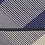 Thumbnail: Men's navy mix stripes and dots scarf