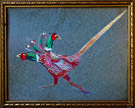Royal Pheasant, 30x 24 cm