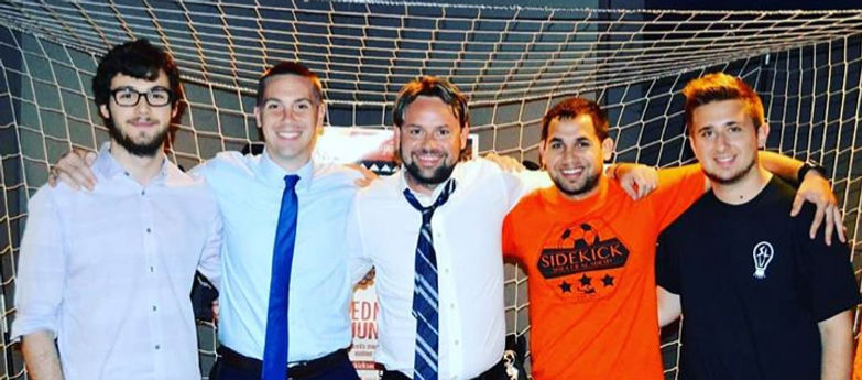 Moore Soccer Academy attends the Officia