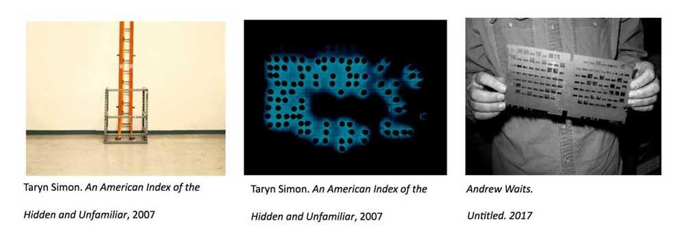 Taryn Simon & Andrew Waits