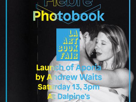 Book launch of Aporia in L.A.Art Book Fair!