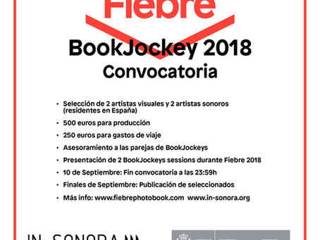 ¡Primera convocatoria BookJockey!