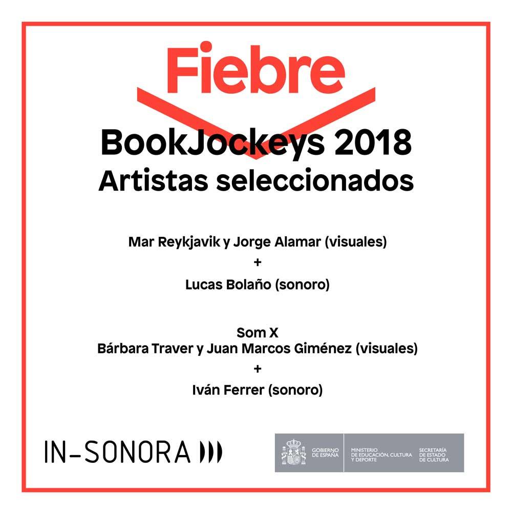 Seleccionados bookJockey 2018