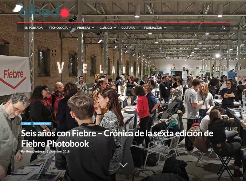 Seis años con Fiebre, crónica de la sexta edición de Fiebre Photobook por Rosa Jiménez