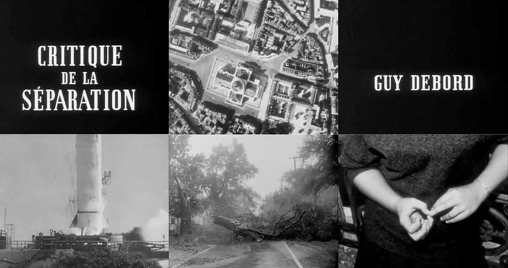 Critique de la separation by Guy Debord