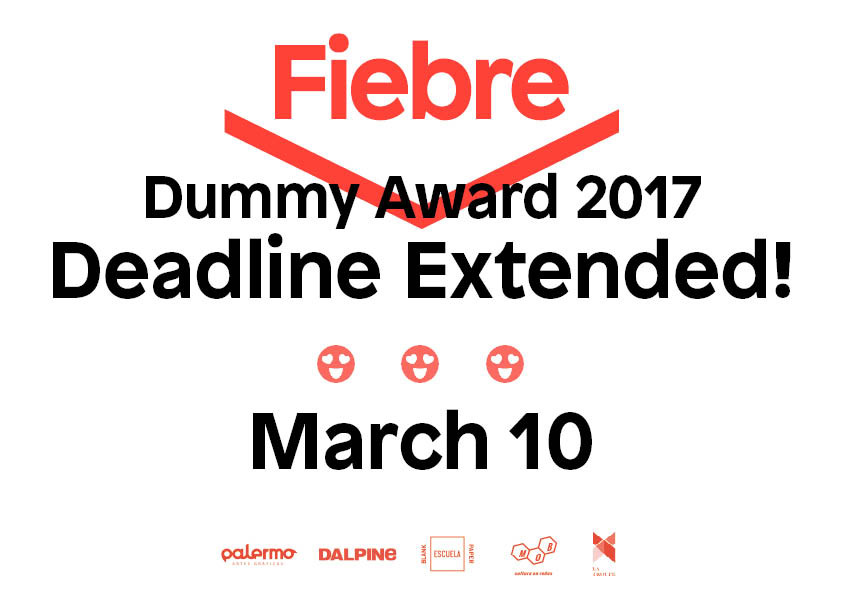 Fiebre Photobook Dummy Award