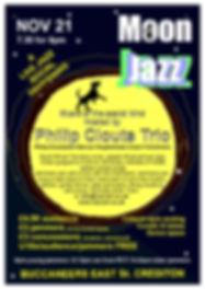Moon Jazz November Philip Clouts Trio.jp