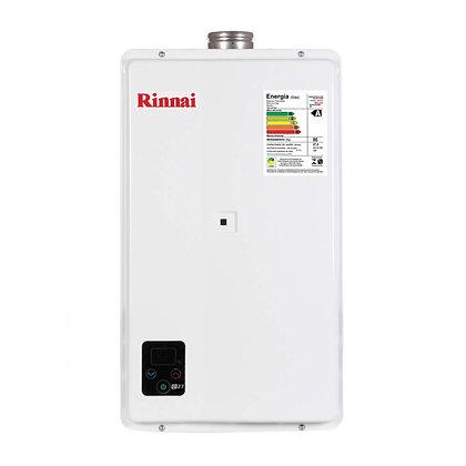 Aquecedor Gás Digital 27 L /Min TOP E27 35°c a 60 ºC RINNAI