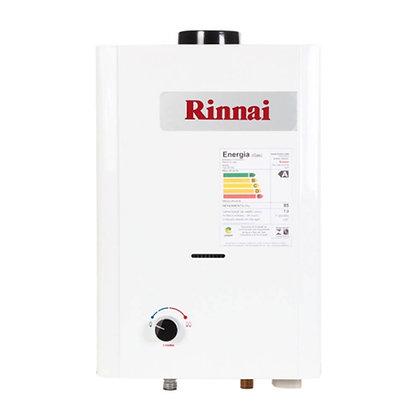 Aquecedor a Gás GN mecânico 7,5 L /Min Baixa Pressão RINNAI