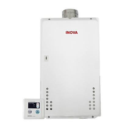 Aquecedor a Gás INOVA Digital - 35,5 Litros por Minuto GN