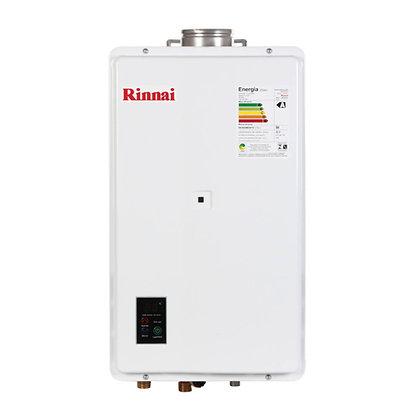 Aquecedor Gás Digital 32,5 L /Min REU2402 Exaustão Forçada