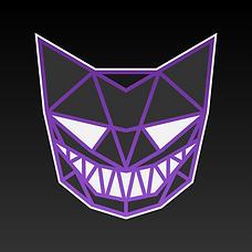 Astro-Cat Face Logo