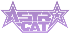 Astro-Cat Name Logo