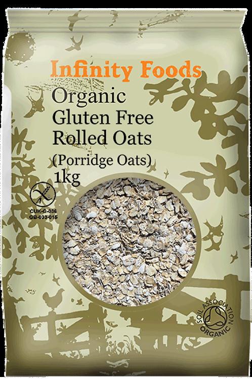 Infinity Organic Gluten Free Rolled (Porridge) Oats