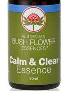 Australian Bush Flowers Calm & Clear Essence