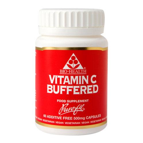 Bio-Health Vitamin C Buffered 60 Caps