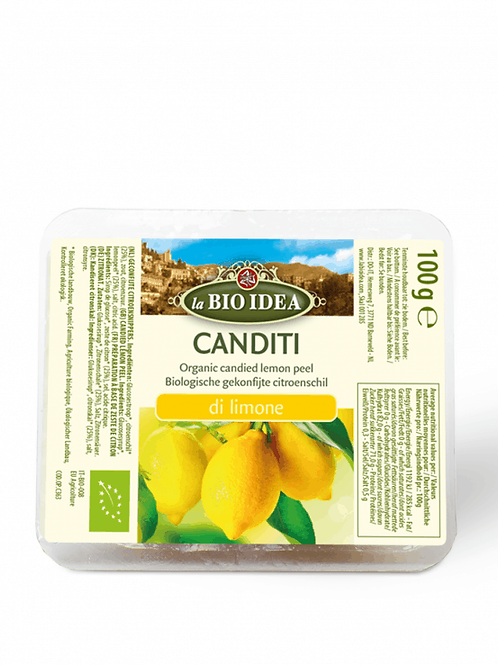 la Bio Idea Canditi - Candied Peel 100g