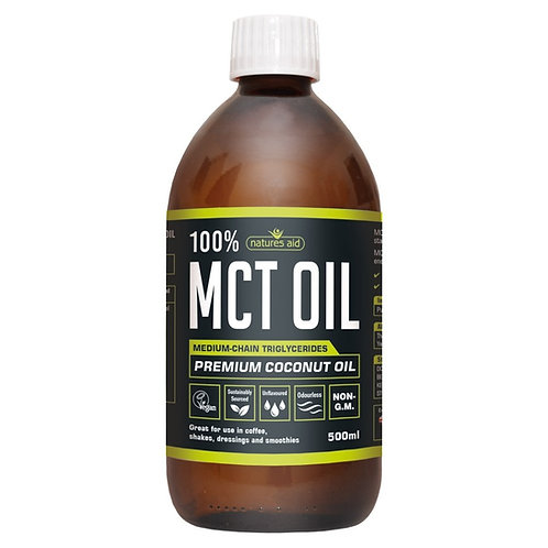 Nature's Aid 100% MCT Oil 500ml