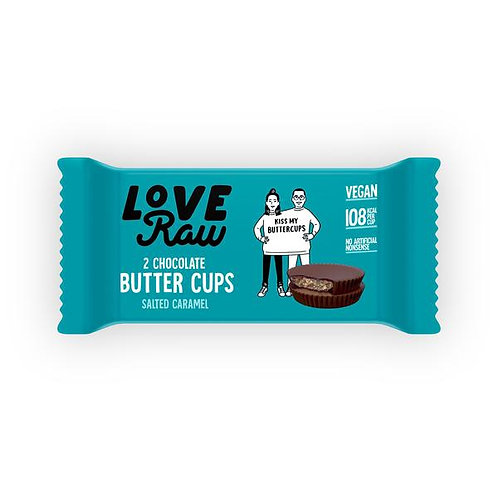 Love Raw Salted Caramel Nut Butter Cups