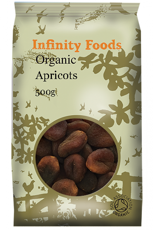 Infinity Organic Dried Apricots 500g