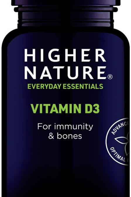 Higher Nature Vitamin D 500iu 120 caps