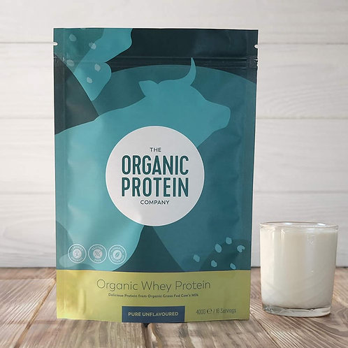 The Organic Protein Company Whey Protein - Pure Unflavoured