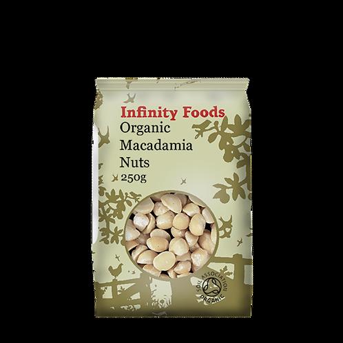Infinity Organic Macadamia Nuts 250g