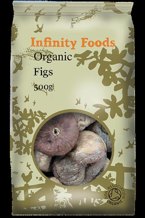 Infinity Organic Dried Figs 500g