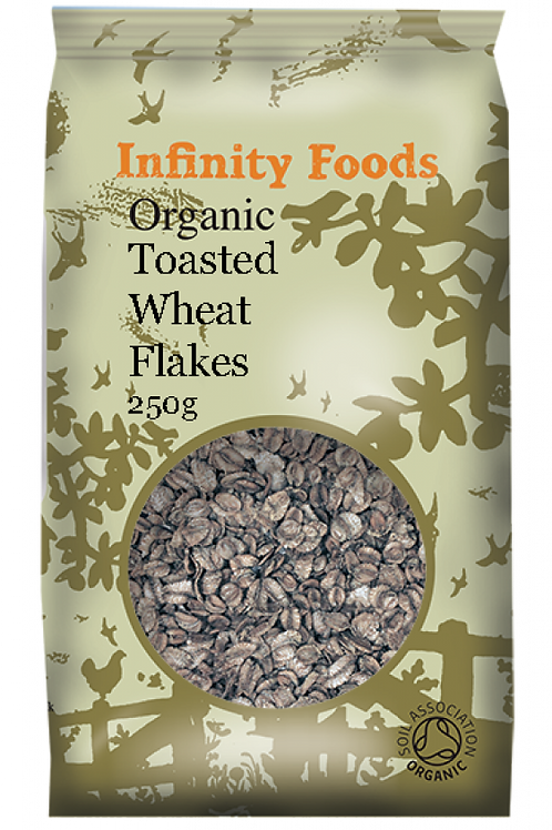 Infinity Organic Toasted Wheat Flakes 250g