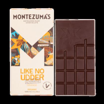 Montezuma's Like No Udder Milk Chocolate Orange Alternative 90g