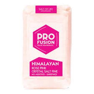 Pro Fusion Himalayan Rose Pink Crystal Salt Fine Ground 500g