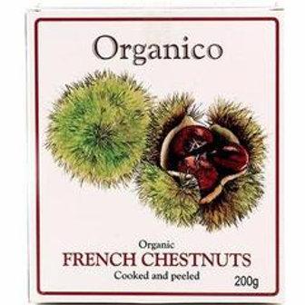 Organico French Chestnuts 200g
