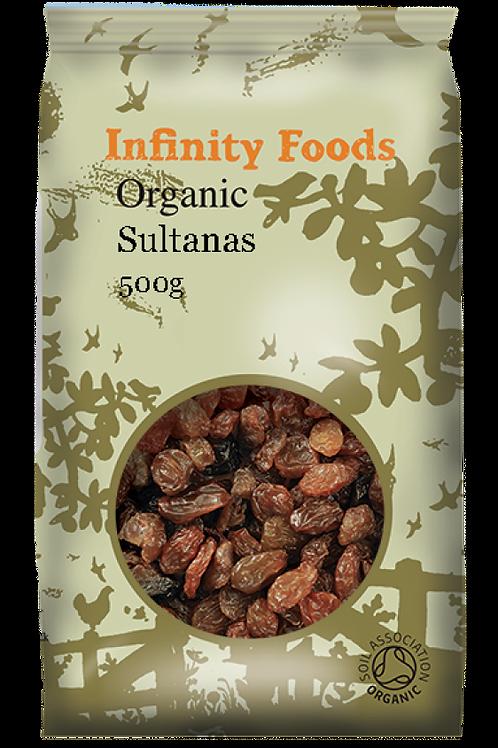 Infinity Organic Sultanas 500g