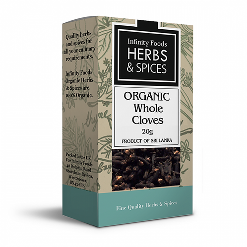 Infinity Organic Whole Cloves