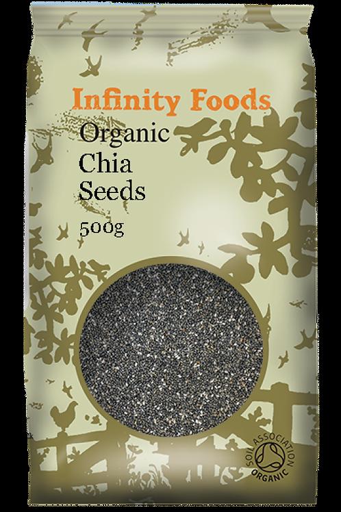 Infinity Organic Chia Seeds 500g