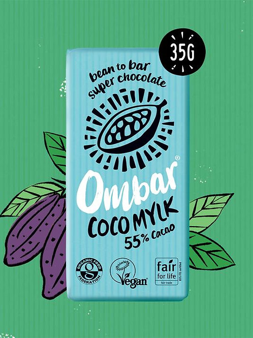 Ombar Coco Mylk 55% Cacao Bar