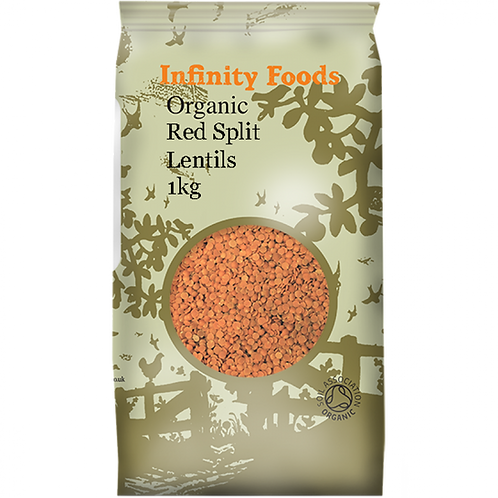 Infinity Organic Red Split Lentils
