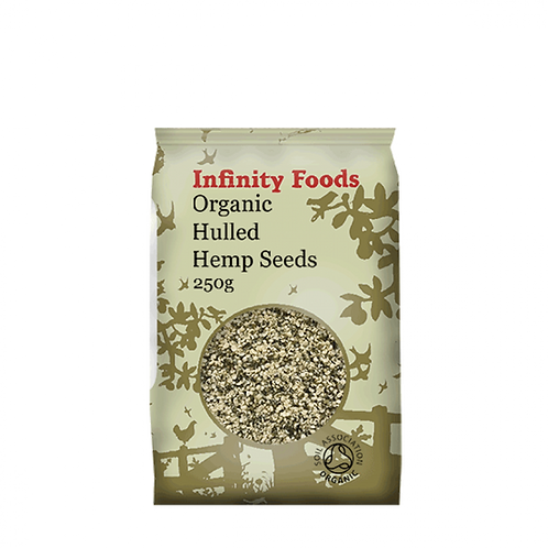 Infinity Organic Hulled Hemp Seeds 250g
