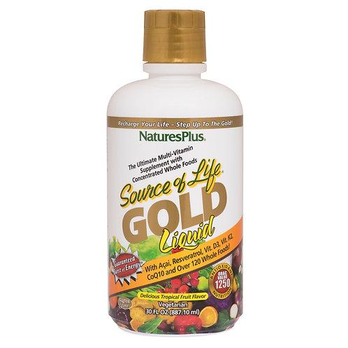 Natures Plus Source of Life® GOLD Liquid - Tropical Fruit