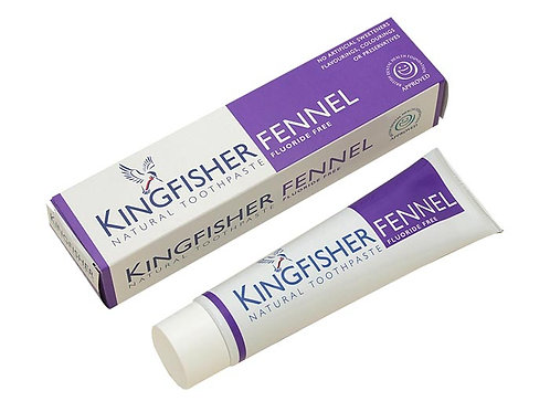 Kingfisher Fluoride Free Fennel Toothpaste