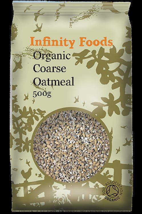 Infinity Organic Coarse Oatmeal (Pinhead) 500g