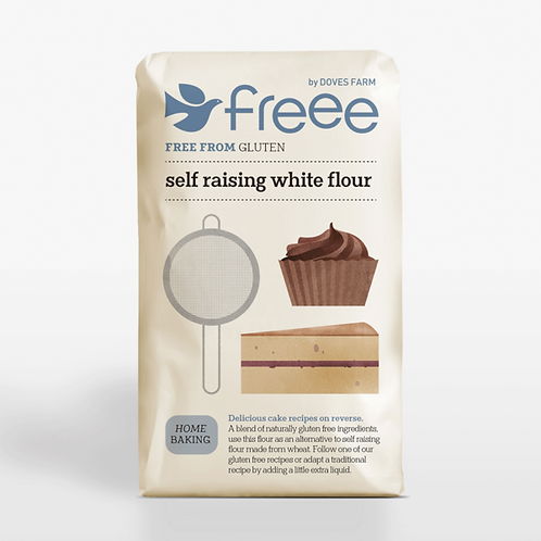 Doves Farm Freee Gluten Free White Self-Raising Flour 1kg