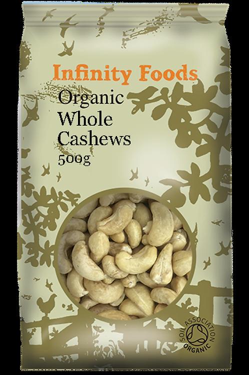Infinity Organic Cashews (Whole)