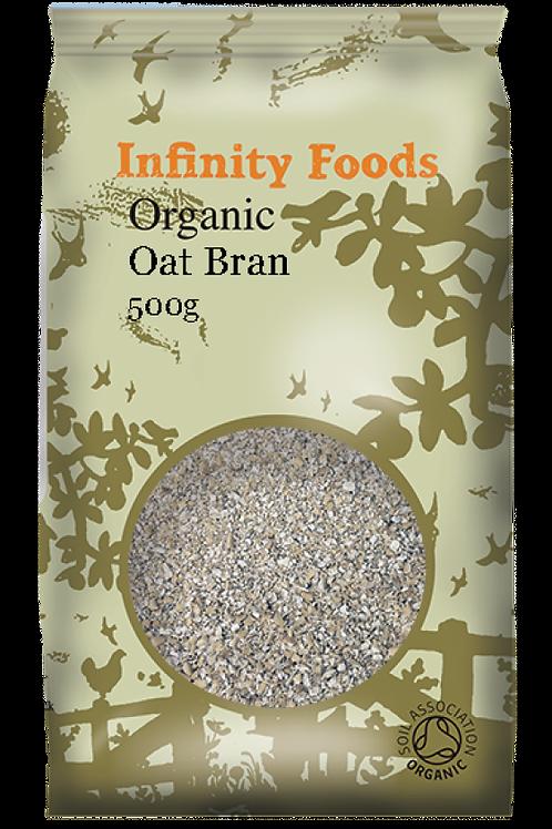 Infinity Organic Oat Bran 500g
