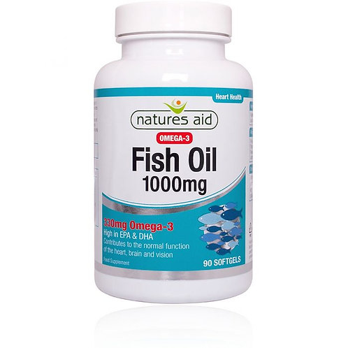 Natures Aid Fish Oil 1000mg
