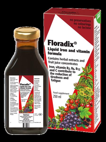 Floradix Liquid Iron & Vitamin Formula
